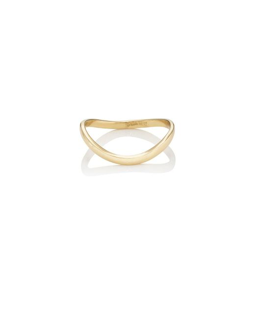Jennifer Meyer - Metallic Wavy Ring - Lyst