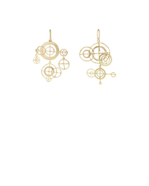 Judy Geib - Metallic Chandelier Earrings - Lyst