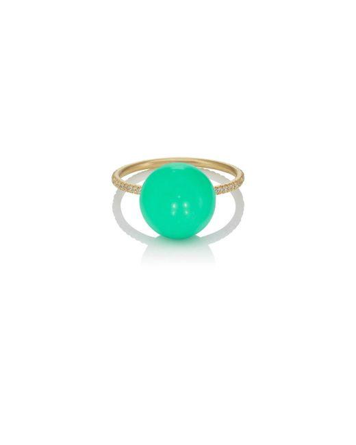 Irene Neuwirth - Green Chrysoprase Sphere Ring - Lyst