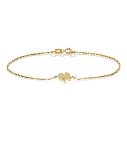 Jennifer Meyer | Metallic Clover Charm Bracelet | Lyst