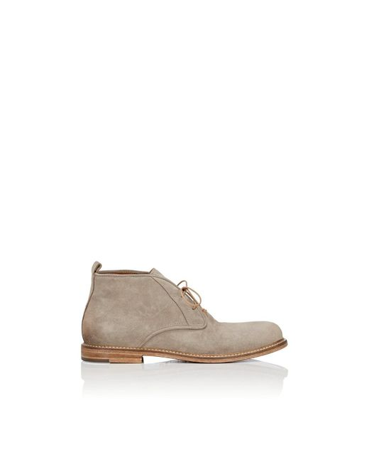 Elia Maurizi - Natural Suede Chukka Boots for Men - Lyst