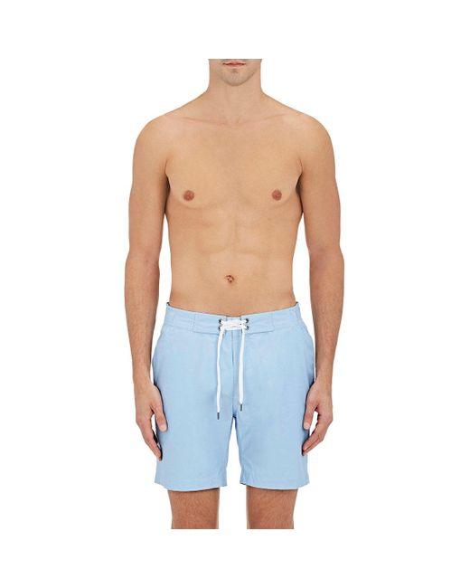 Onia | Blue Alex Board Shorts for Men | Lyst