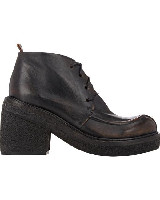 Marsèll | Black Chunky-heel Ankle Boots | Lyst