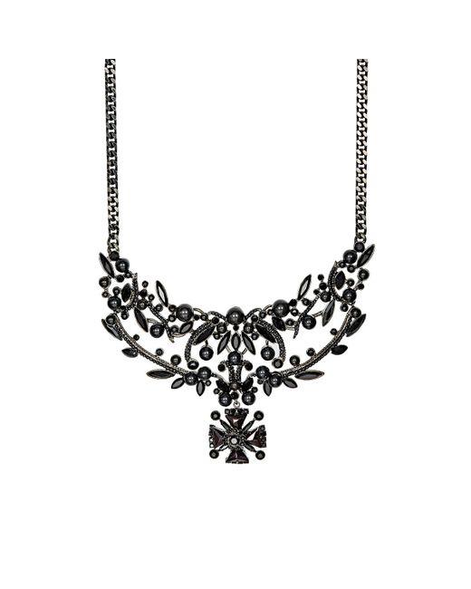 Givenchy | Black Bib Necklace | Lyst