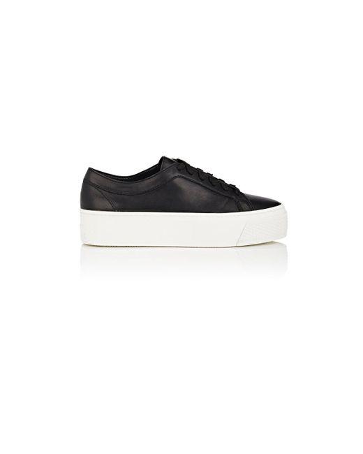 Loeffler Randall   Black Miko Leather Platform Sneakers   Lyst