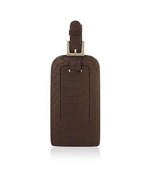 Barneys New York | Brown Luggage Tag | Lyst