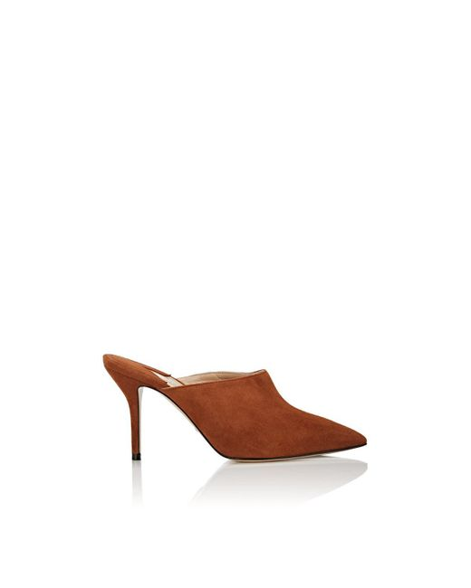 Paul Andrew - Brown Certosa Suede Pointed - Lyst