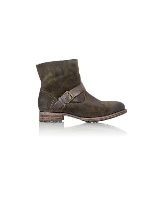 N.d.c. Made By Hand | Green Biker Low Boots | Lyst