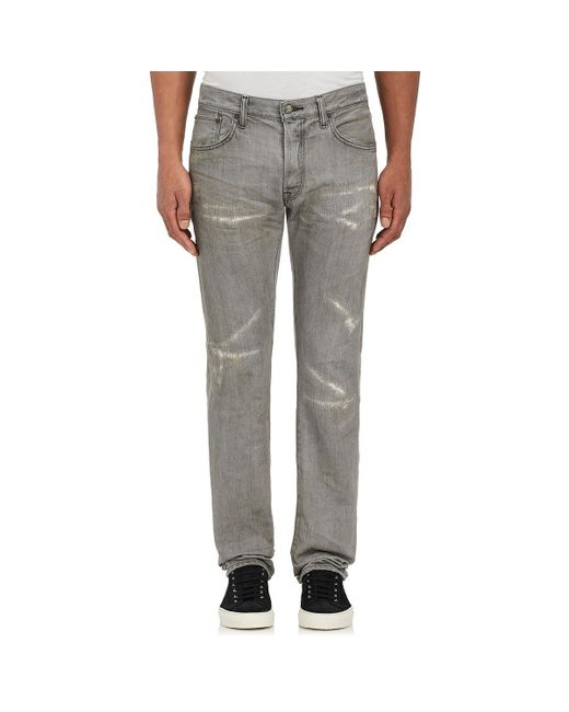 Fabric-Brand & Co. - Gray Ritsu Slim Jeans for Men - Lyst