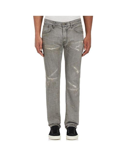 Fabric-Brand & Co. | Gray Ritsu Slim Jeans for Men | Lyst