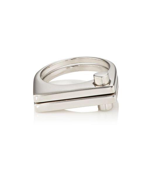 Miansai | Metallic Modern Flat Ring | Lyst