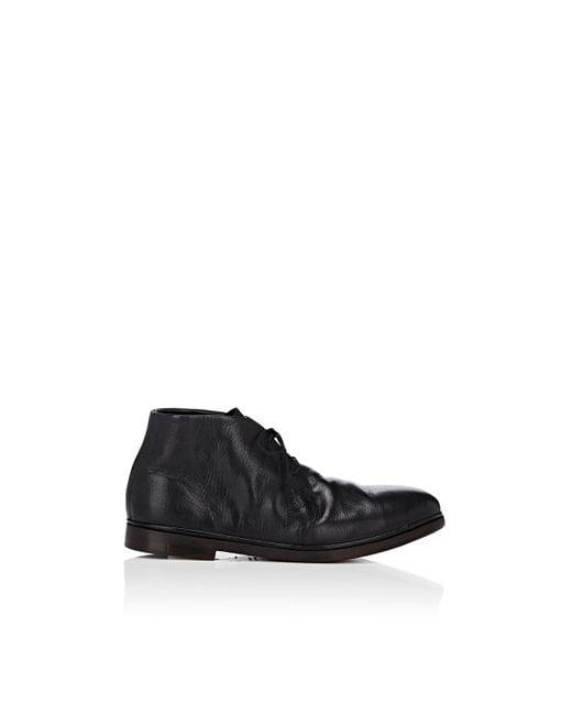 Elia Maurizi - Black Leather Chukka Boots for Men - Lyst
