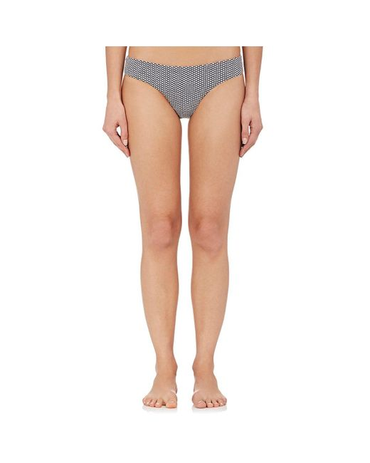 Onia - White Lily Jacquard Bikini Bottom - Lyst