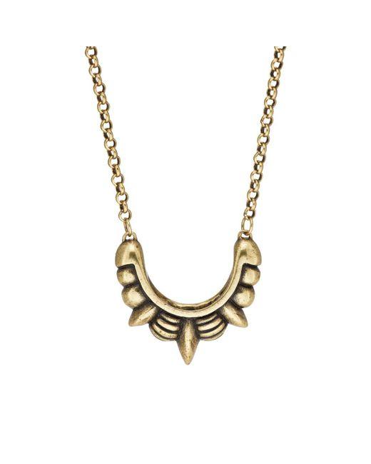Pamela Love - Metallic Small Spike Pendant Necklace - Lyst