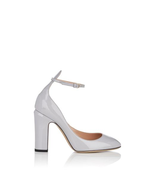 4b84c9c7ca7d Valentino Tango Patent Leather Pumps in Gray - Save 23% - Lyst