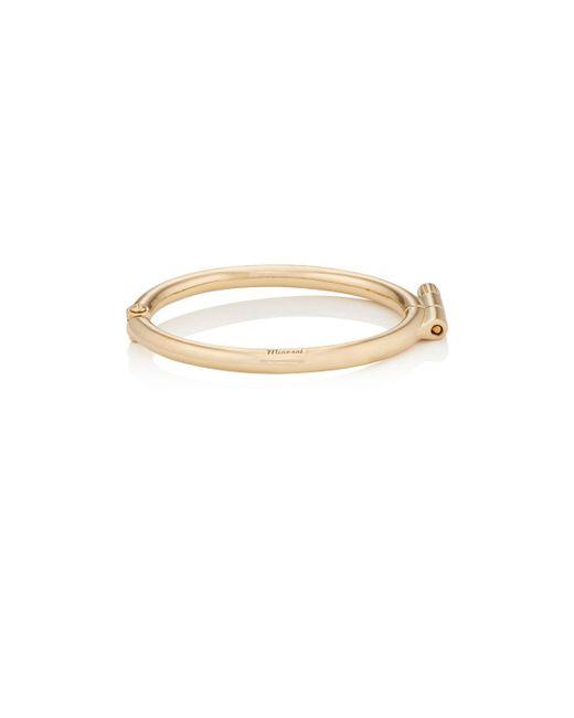 Miansai | Metallic Side Cuff Bracelet | Lyst