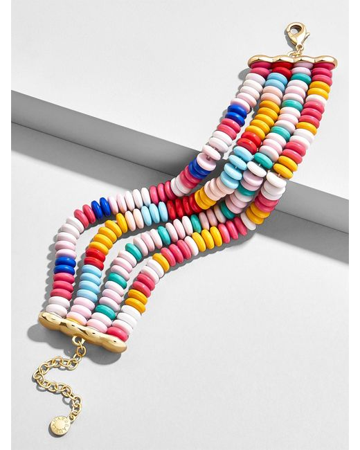 BaubleBar - Multicolor Margreta Beaded Bracelet - Lyst