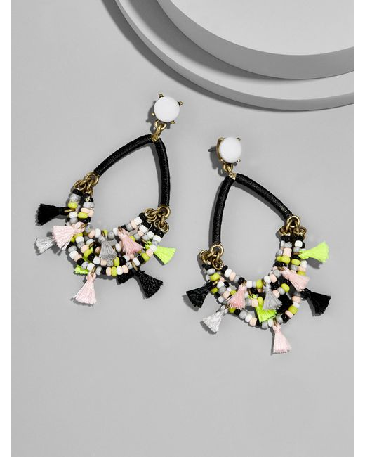 BaubleBar | Multicolor Merengue Hoop Earrings-blush | Lyst