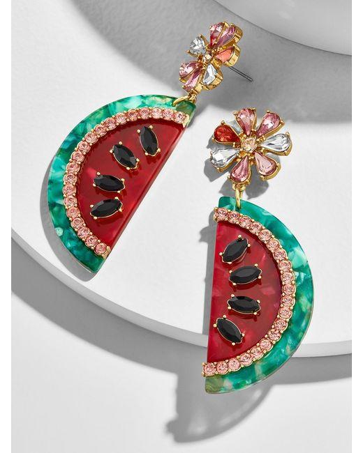 BaubleBar - Multicolor Watermelon Drop Earrings - Lyst