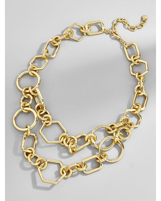 BaubleBar | Metallic Chain-link Statement Necklace | Lyst
