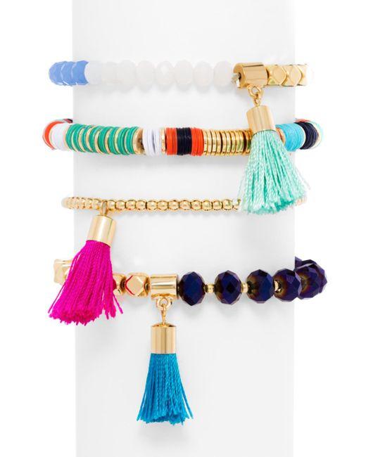 BaubleBar | Multicolor Antigua Bracelet Quartet | Lyst