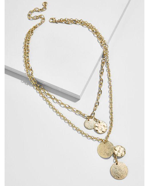 BaubleBar - Multicolor Talia Layered Pendant Necklace - Lyst