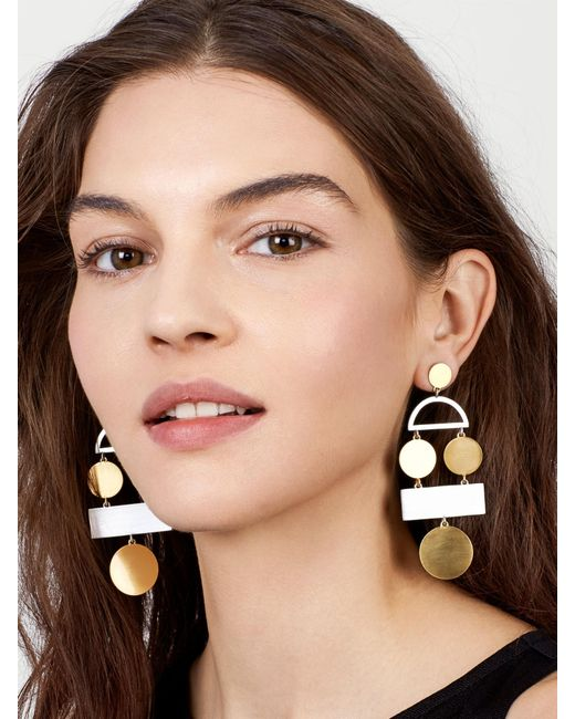BaubleBar - Metallic Picasso Drop Earrings - Lyst