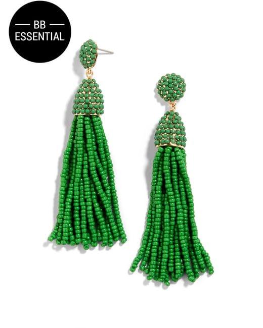 BaubleBar | Green Piñata Tassel Earrings | Lyst