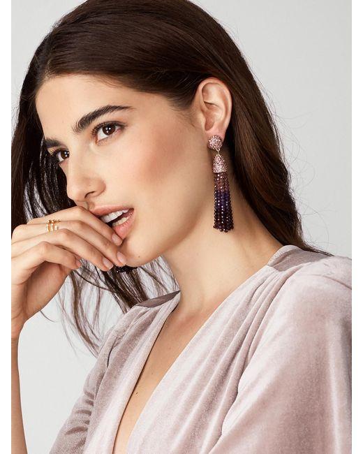 BaubleBar | Purple Festival Tassel Earrings | Lyst