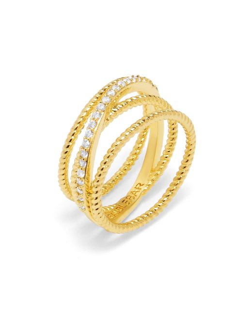 BaubleBar | Multicolor Carly Crossover Ring | Lyst