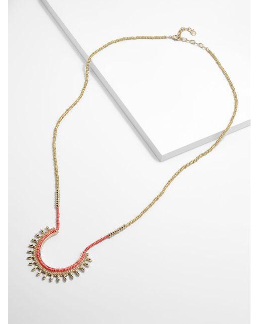BaubleBar - Multicolor Tannar Pendant Necklace - Lyst