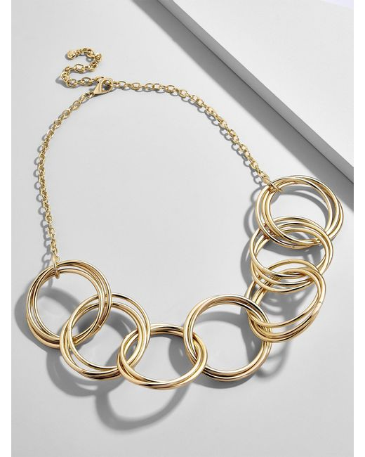 BaubleBar | Multicolor Romina Linked Statement Necklace | Lyst