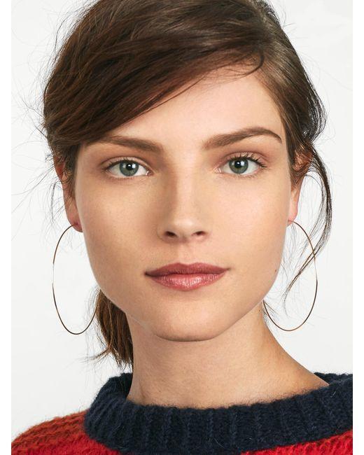 BaubleBar - Metallic Patrice Hoop Earrings - Lyst