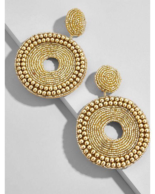 BaubleBar | Metallic Ora Hoop Earrings | Lyst