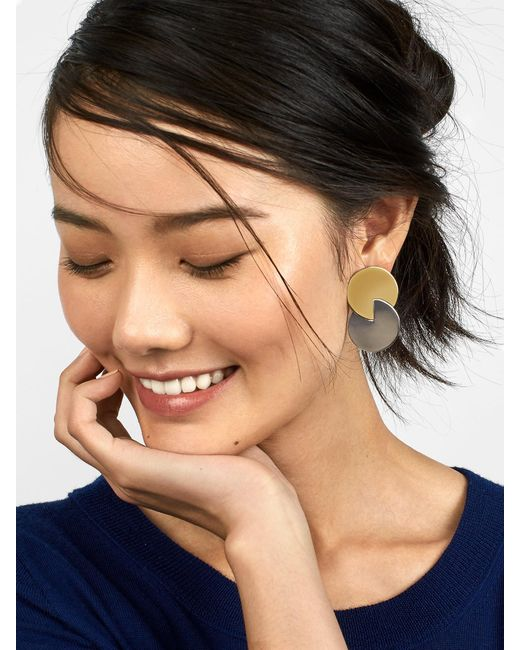 BaubleBar | Metallic Roni Stud Earrings | Lyst