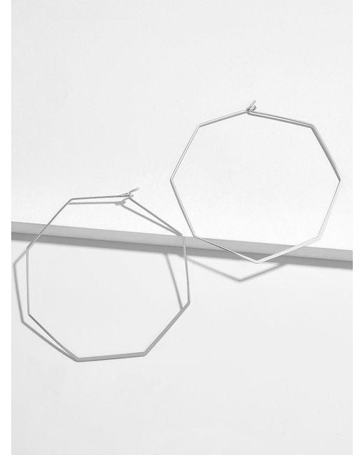 BaubleBar - Metallic Cassandra Hoop Earrings - Lyst