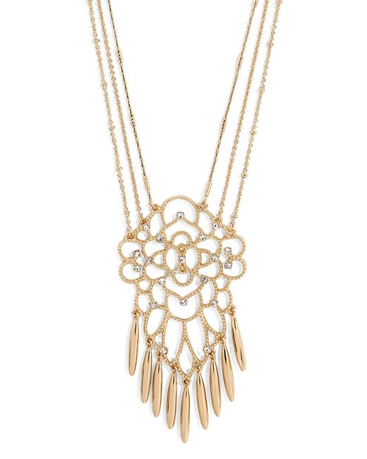 BaubleBar | Metallic Brielle Pendant Necklace | Lyst