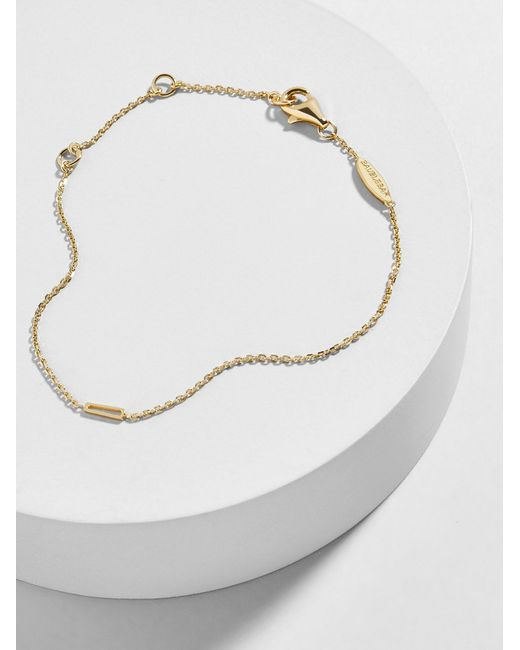 BaubleBar - Multicolor Quadro 18k Gold Plated Bracelet - Lyst
