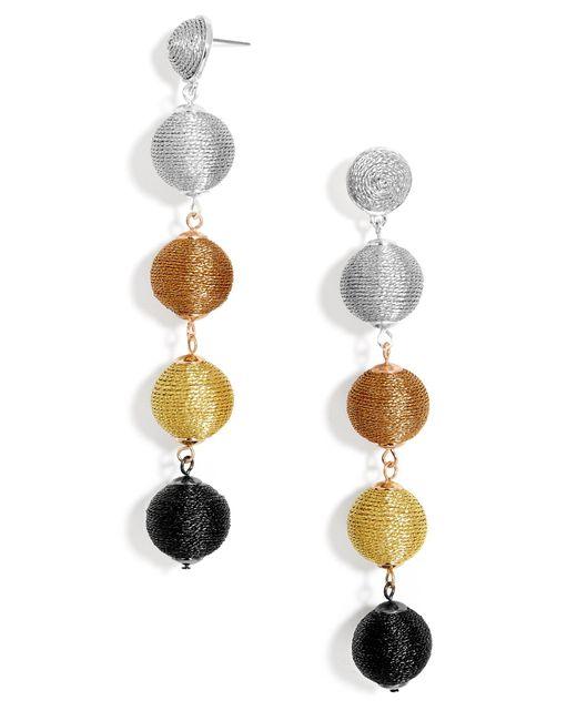 BaubleBar | Multicolor Mely Ball Drop Earrings | Lyst