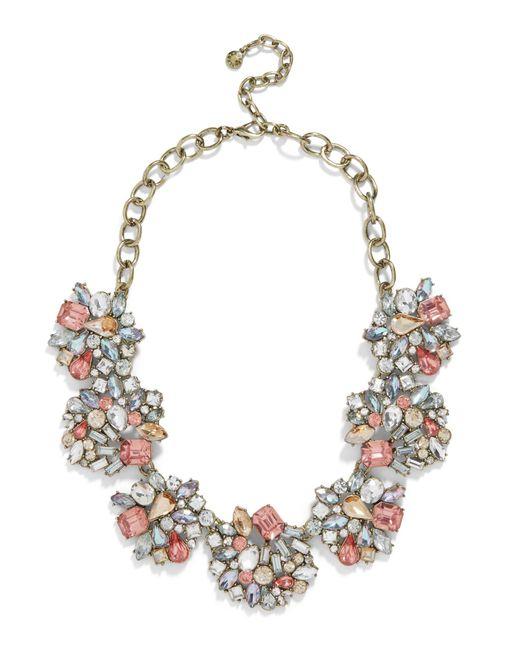 BaubleBar Pink Angelia Statement Necklace