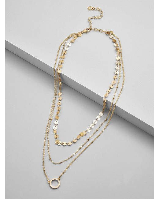 BaubleBar - Multicolor Adrielle Layered Necklace - Lyst