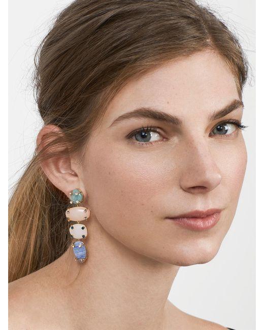 BaubleBar | Multicolor Devina Semi-precious Drop Earrings | Lyst
