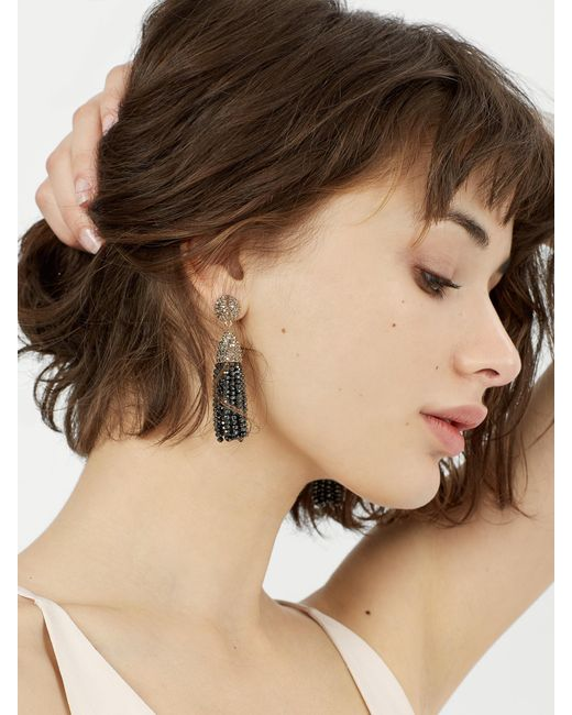 BaubleBar | Mini Metallic Piñata Tassel Earrings | Lyst