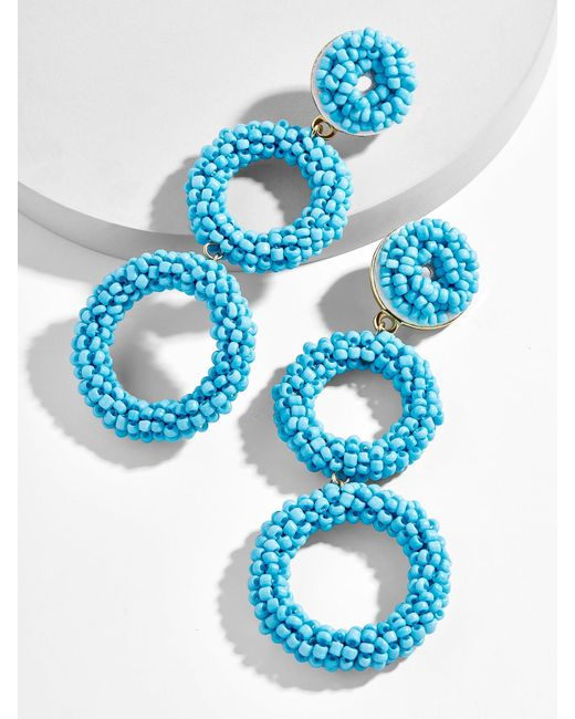 BaubleBar - Blue Capella Drop Earrings - Lyst