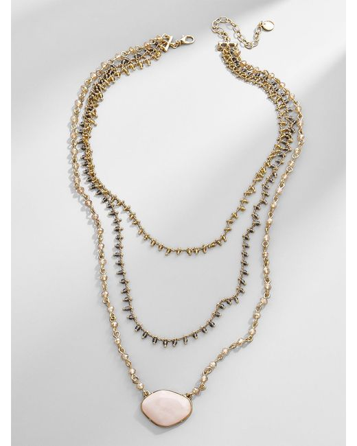 BaubleBar - Multicolor Seraphia Layered Necklace - Lyst