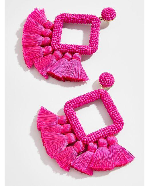 BaubleBar - Multicolor Laniyah Fringe Drop Earrings - Lyst