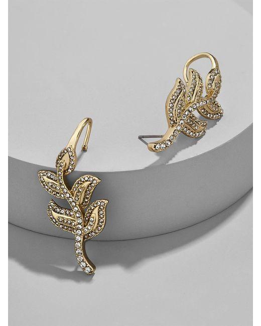 BaubleBar | Metallic Lotus Ear Crawlers | Lyst