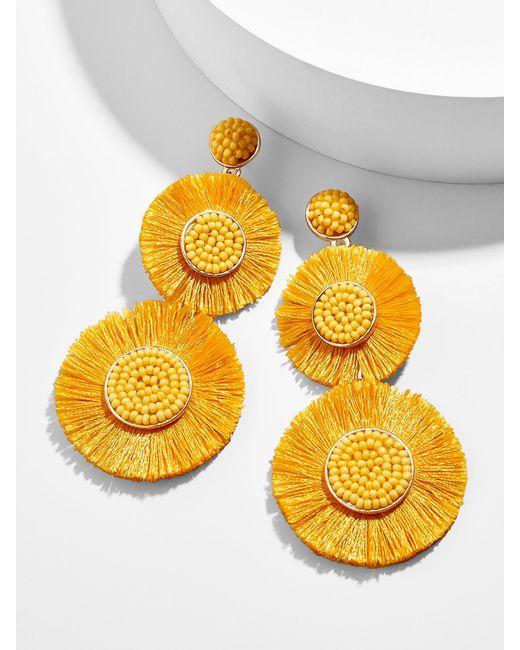 BaubleBar - Multicolor Mariette Fringe Drop Earrings - Lyst