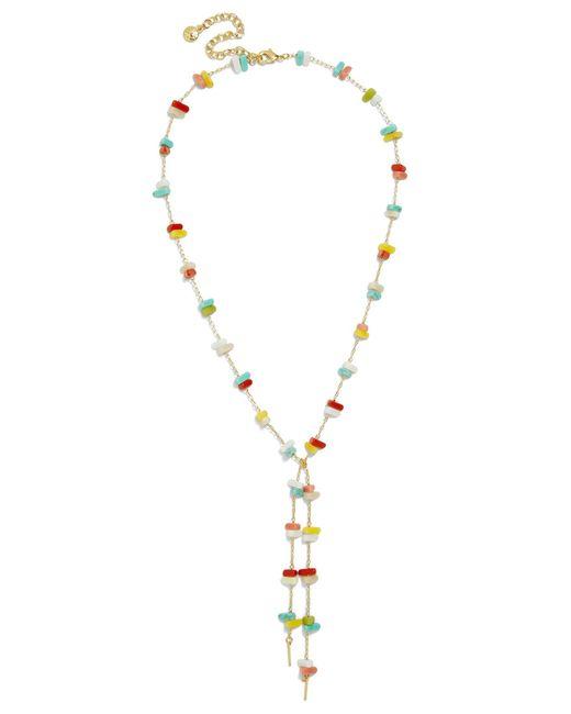BaubleBar - Multicolor Isha Y-chain Necklace - Lyst