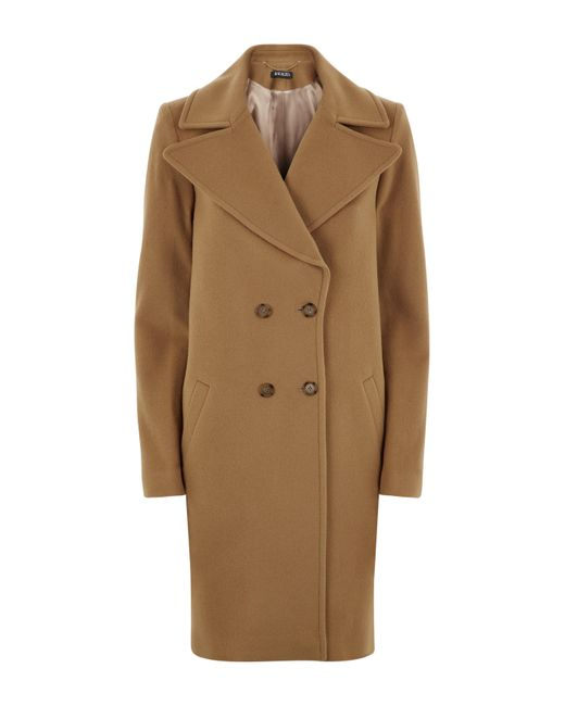 Baukjen - Natural Farrah Double Breasted Coat - Lyst